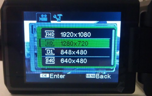 Разрешения DOD F900LHD